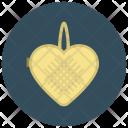 Heart Loofa Locket Icon