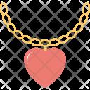 Heart Pendant Locket Icon