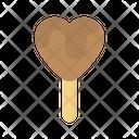 Heart Lollipop Heart Love Icon