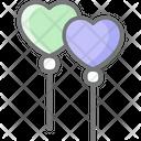 Lollipop Icecream Relationship Icon