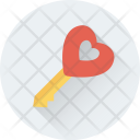 Heart Lollipop Confectionery Icon