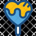 Heart Lollipop Lolly Icon