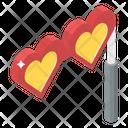 Heart Mask Carnival Mask Heart Props Icon