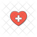 Medical Love Heart Icon
