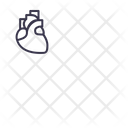 Heart Midical Breath Icon