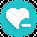Heart Minus Icon