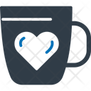 Heart Mug Heart On Mug Love Symbol Icon