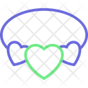 Heart Necklace Heart Love Icon