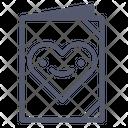 Heart Notes Icon