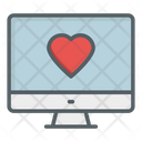 Heart On Screen Icon