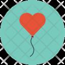 Heart On Thread Icon