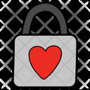 Heart Padlock Icon