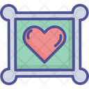 Heart Paper Heart Card Love Card Icon