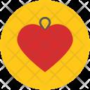 Heart pendant Icon
