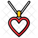 Heart Necklace Jewellery Ornament Icon