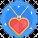 Locket Heart Pendant Heart Locket Icon