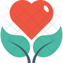 Heart Plant Pot Icon