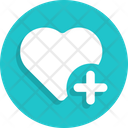 Heart Plus Icon
