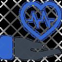 Health Insurance Heart Care Heart Health Icon