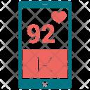 Heart Pulse Analytics Icon
