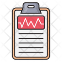 Report Medical Clipboard Icon