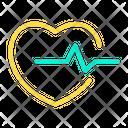 Heart Beat Beat Pulse Icon