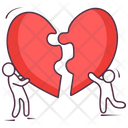 Heart Puzzle Love Puzzle Heart Jigsaw Icon