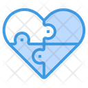 Heart Puzzle Jigsaw Puzzles Icon