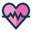 Heart Rate Monitor Heart Icon
