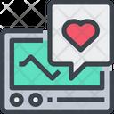 Heart Heart Rate Ecg Icon