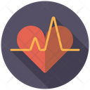 Heart Rate Heartbeat Medical Icon