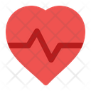 Heart Rate Heart Health Icon