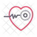 Heart Cardiology Health Icon