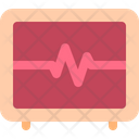 Heart Rate Medical Icon