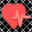 Heart Rate Heartbeat Heart Rhythm Icon