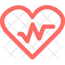 Heart Rate Medical Hospital Icon