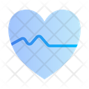 Heart Rate Medical Medicine Icon