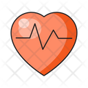 Health Heart Life Icon
