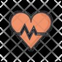 Heart Geart Rate Heartbeat Icon
