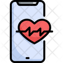 Heart Rate Mobile Icon