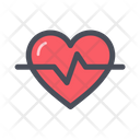 Heart Rate Electrocardiography Heart Pulse Icon