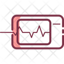 Medical Heart Rate Healthcare Icon