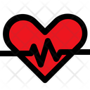 Heart Rate Healthcare Heart Icon