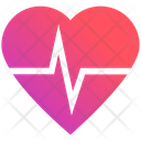 Heart Rate Beat Bodybuilding Icon