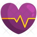 Heart Rate Heartbeat Pulse Icon