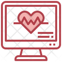 Heart Rate Electronics Computer Icon