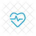 Heart Rate Medical Healthcare Icon
