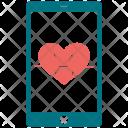 Heart Rate Analytics Diagram Icon