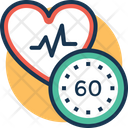 Normal Heart Rate Icon