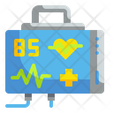 Heart Rate Monitor Medical Technology Icon